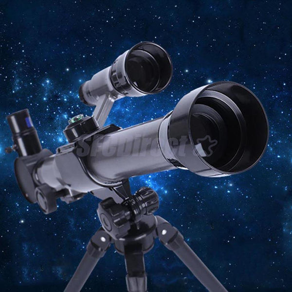 C2130 Beginners 52mm Astronomical Refractor Telescope with Tripod Kids Toys