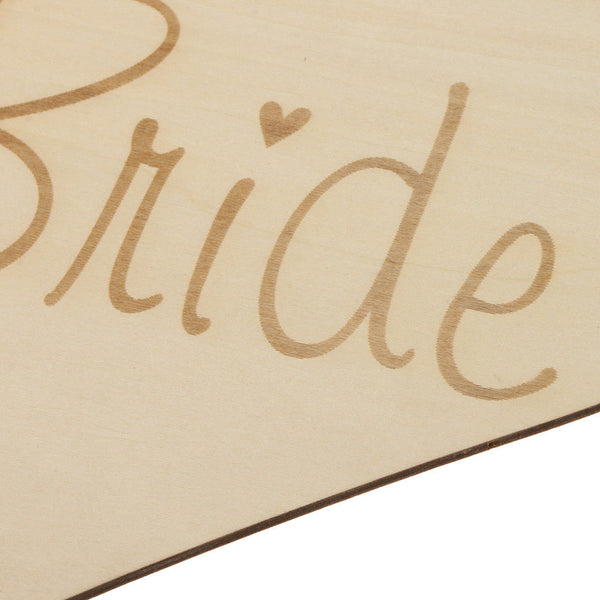 Here Comes Your Bride Wedding Page boy Flower girl Wooden Sign Portable