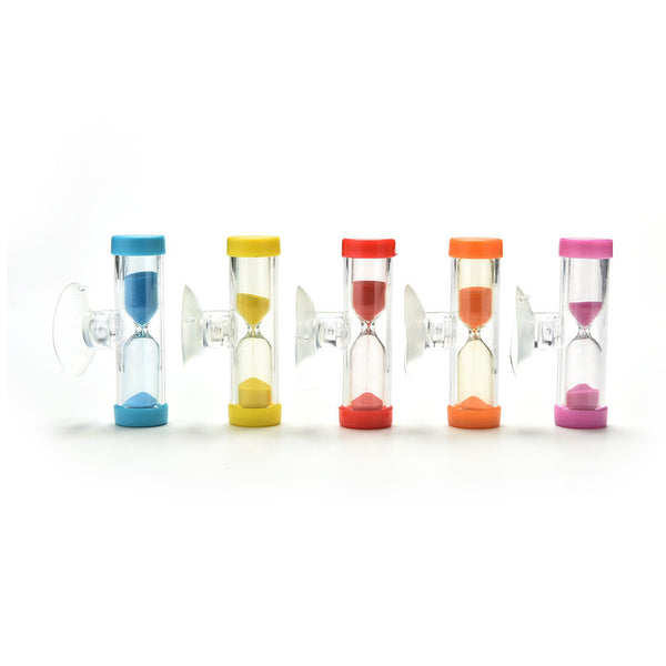 New Hourglass for Shower Timer/Teeth Brushing Timer with Suction Cup kC