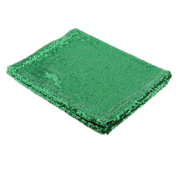12x108inch Green Sequin Glitter Bed Table Runner Cloth Christmas Xmas