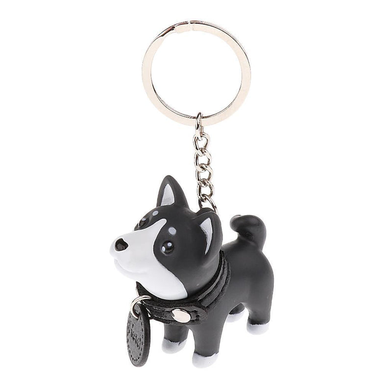 Shiba Inu Pattern Guitar Pick Necklace Unique Custom Fashion Pet Card Keychain