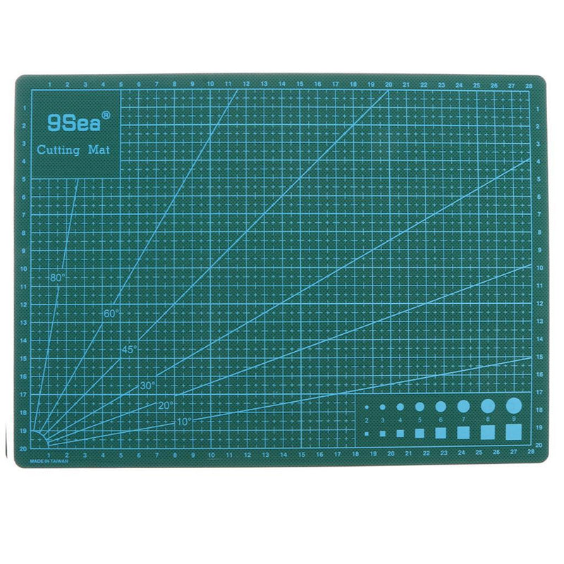 A4 Grid Lines Cutting Mat Craft PVC Card Paper Non-Slip Board 30*22cm