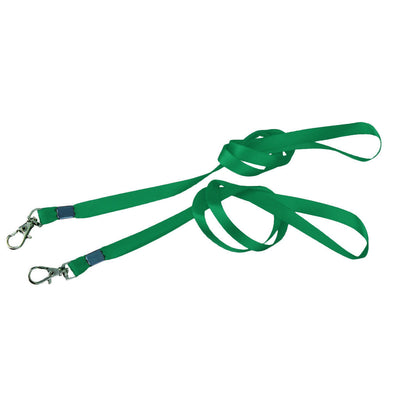 10 Pack Necklace Neck Strap Lanyard For ID Pass Card Badge Metal Clasp Green