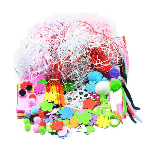 1 Set Assorted Children Kids Handcraft Handmade Toys DIY Craft Material Kit