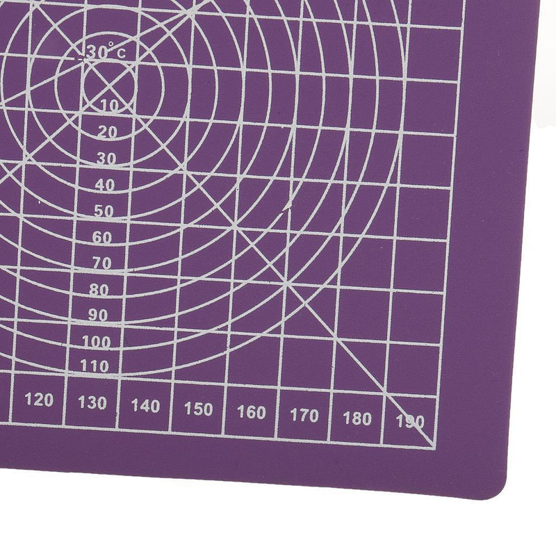 Purple Self Healing Double-Sided PVC A5 Cutting Mat 22x15cm Multipurpose