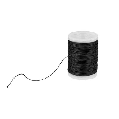 Fiber Archery Bow String Serving Thread Bowstring Protect - Black