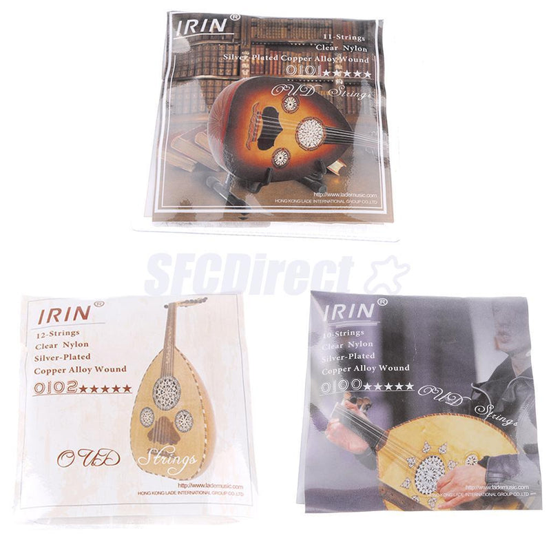 Durable 1 Set/12 Strings Replacement Strings 0th-5th for Oud Accessory