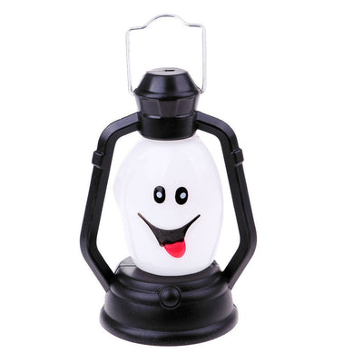 Halloween Pumpkin Lamp Portable Hanging Lantern Party Bar Night Light Lamp