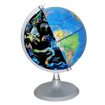20cm Illuminated World Globe Constellation Globe Table Desktop Decoration