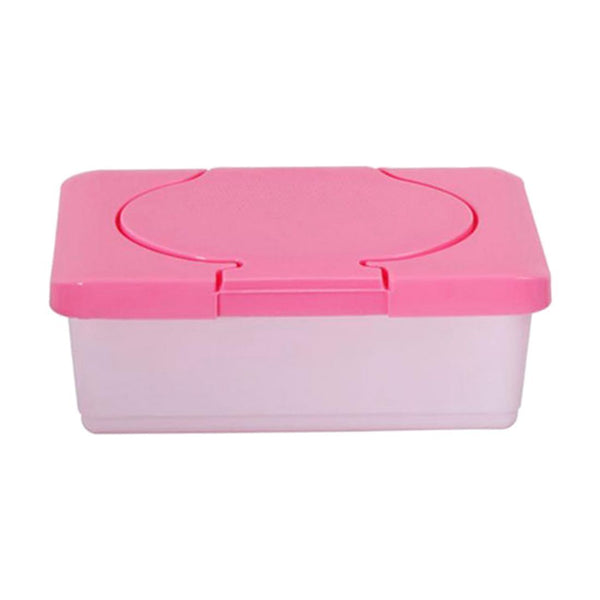 Dry & Wet Tissue Paper Case Care Baby Wipes Napkin Storage Box Holder Conta N6B4
