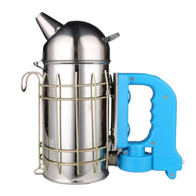 MagiDeal Best Bee Hive Smoker Stainless Steel with Heat Shield Electric