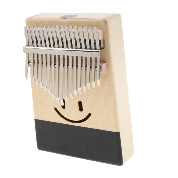 Kalimba 17 Key Thumb Piano Finger Percussion with Carry Bag Tuning Hammer