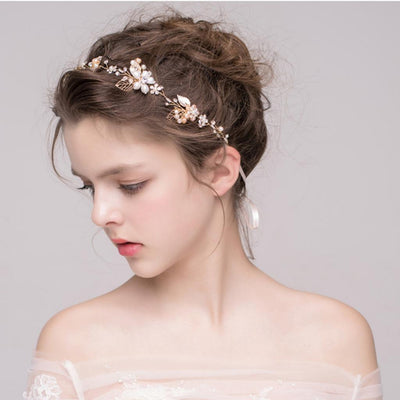 Women Lady Headband Crystal Hair Band for Wedding Party Hair Hoop Tiara