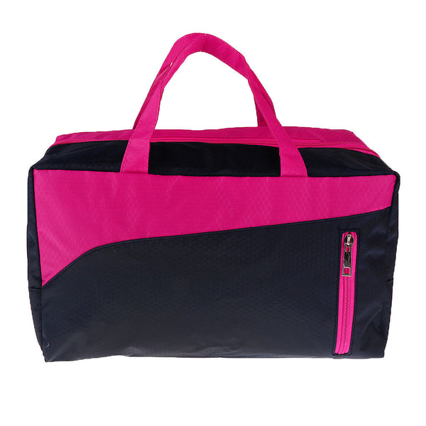 Wet Dry Separated Swimming Beach Bag Travel Tote Sports Gym Duffel Bag Red