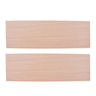 2Pcs/Pack 10x 0.6mm Balsa Wood Board Plate for Decorative Wooden Art Crafts