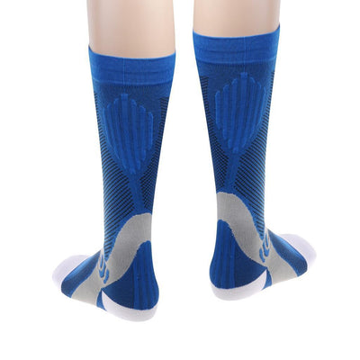 2 Pair Soccer Socks Anti Slip Football Socks Team Sports Socks Compression