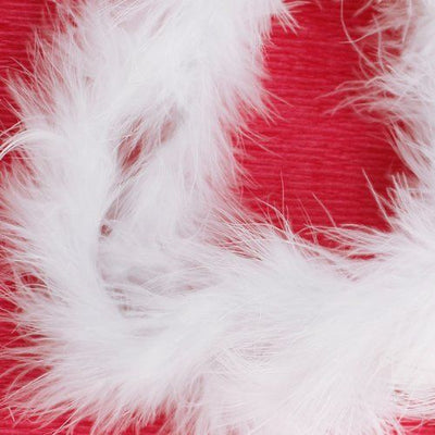 6 ft Marabou Feather Boa for Diva Night Tea Party Wedding - White R7F5