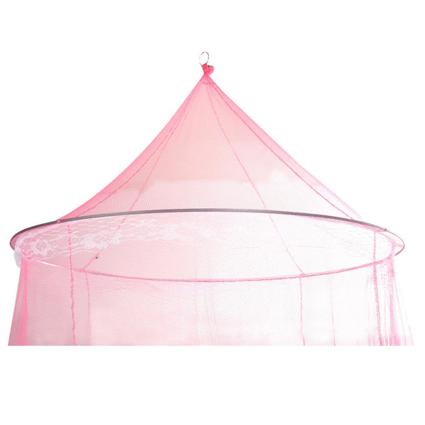 New P Elegant Round Lace Mosquito Polyester Bed Canopies Netting B4V4