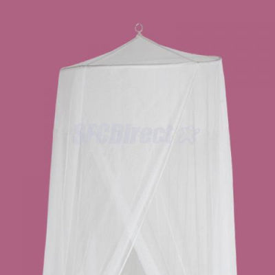 White Mosquito Bug Net Netting Tent Canopy for Baby Toddler Cot Bed Crib Playpen