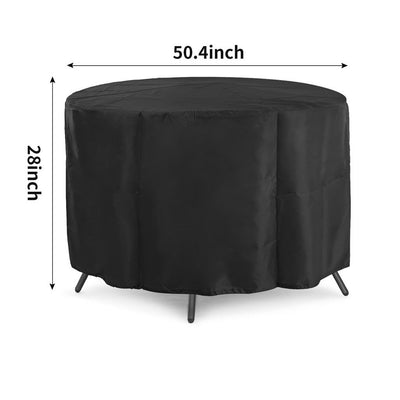 2pc Waterproof Garden Patio Table Cover Outdoor Furniture Shelter Protection