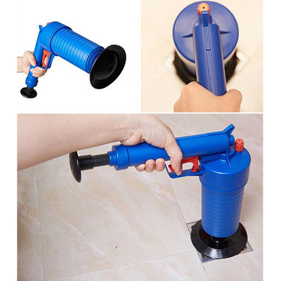 Air Pump Drain Pressure Plunger Toilet Opener Cleaner Unclog Dredge Tools