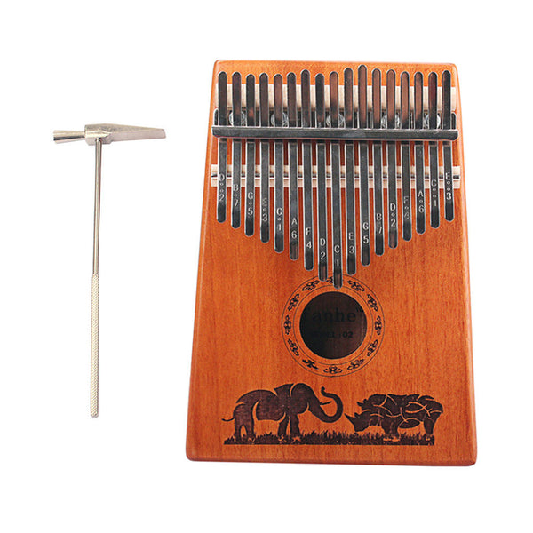 17 Keys Kalimba Thumb Piano Kalimba Bag Acoustic Spectrum for Piano Lovers