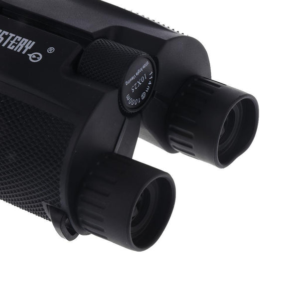 10x25 Folding High Powered Binoculars With Weak Light Night Vision Outdoor