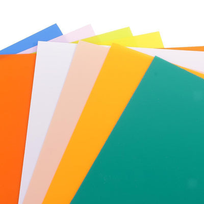 10pcs Colorful Heat Shrink Paper Sheets for DIY Hanging Decoration Crafts