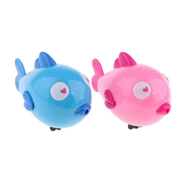 Random Wind-up Kiss Fish Animal Children Bath Swimming Water Clockwork Toys