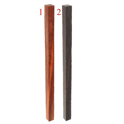5x Camwood Unfinished Square Sticks Strips for DIY Wood Beads Making Crafts