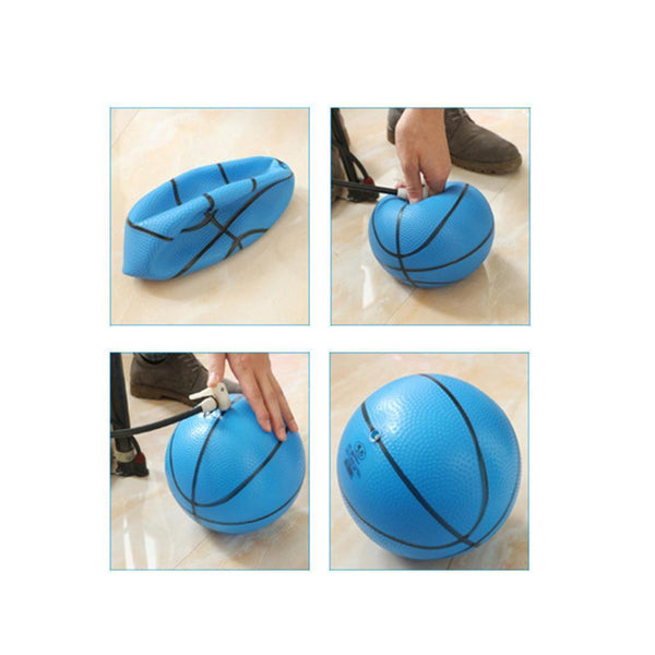2x Gifts for Children Kids Indoor/Outdoor Sport Mini Basketball-Blue,Green