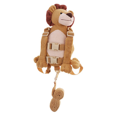 Lovely Cute Children Kids Anti-Lost Kindergarten Toddler Backpack Bag Lion