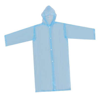 Nondisposable Waterproof Kid Child Raincoat Poncho for Walking Emergency BL
