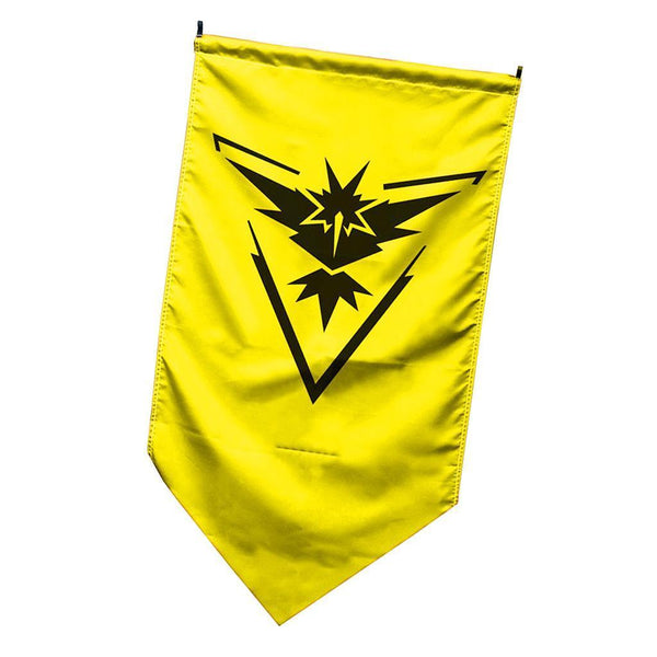 Pokemon Go Flag Team Banner Outdoor Wall Door Hanging Poster Decor Instinct