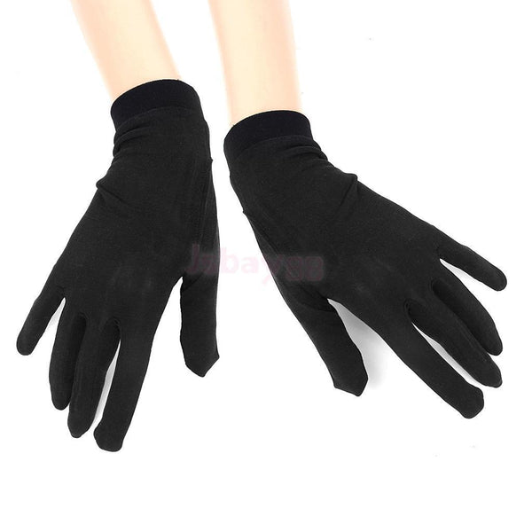 100% Silk Gloves Liners Thermal Inners Skiing Motorbike Cycling Winter Small