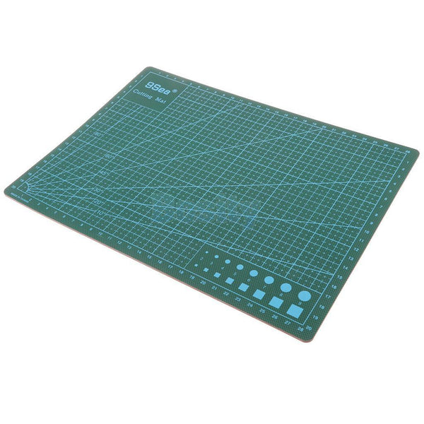 Double-Sided Cutting Mat Printed Grid Non Slip Paper Card Desktop A4 Mats