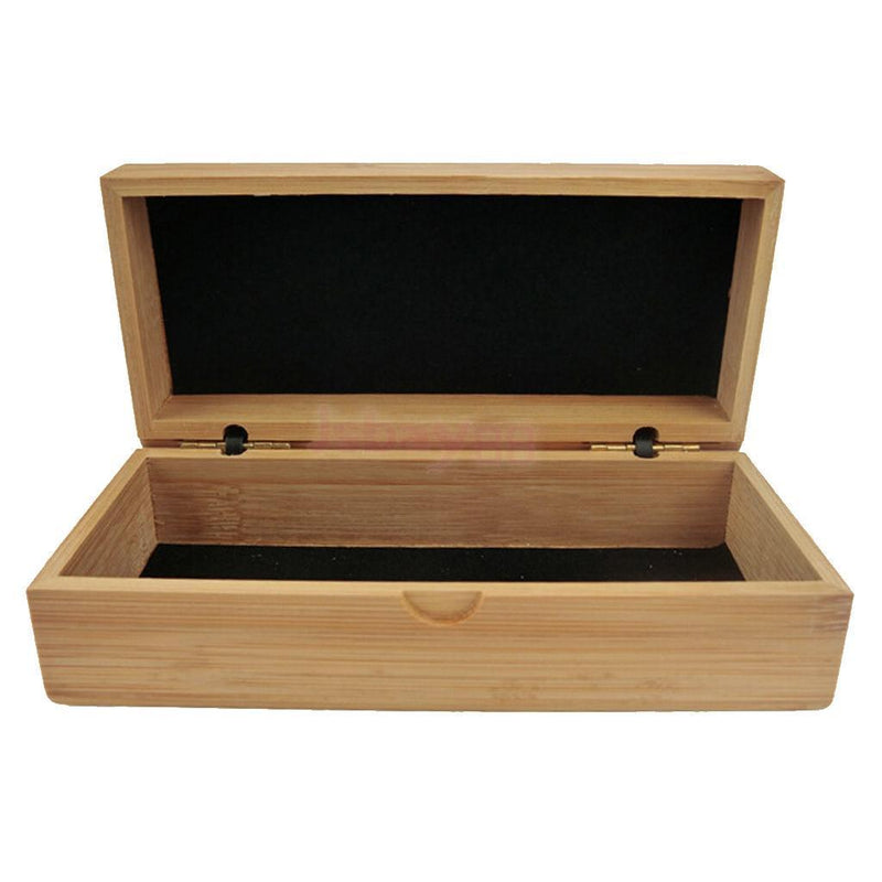 Bamboo Sunglasses Reading Glasses Case Hard Box Storage Holder Travel Pack