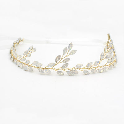 Crystal Rhinestone Hair Vine Headband Wedding Bride Party Prom Fancy Dress