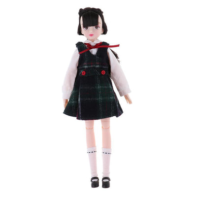 18 Jointed Movable Body Parts School Uniform Clothing Set For Xiaojing Gift