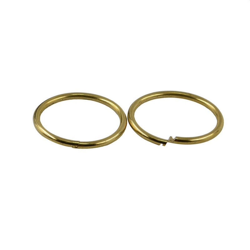 10 Pcs Fashion 32 mm Key Chain Split Rings Jump Ring Connector Jewelry DIY