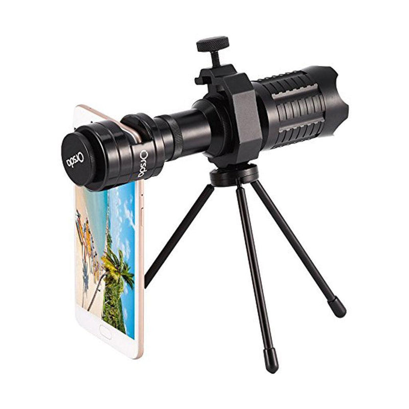 MagiDeal 20X Universal Clip-on Optical Zoom Telescope Camera Lens For Phones