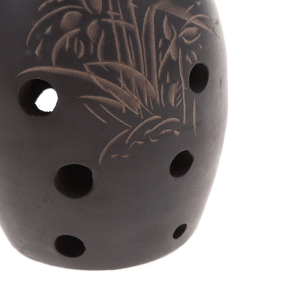 8-Holes Ocarina Clay Xun Musical Instrument for Beginners Children Gift