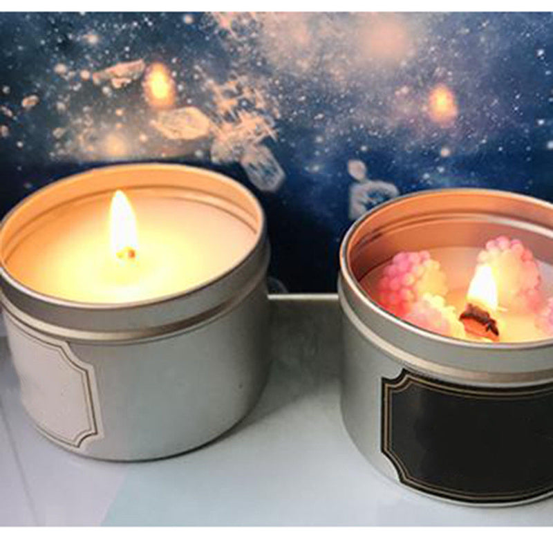 DIY Candle Tin Jars Candles Containers Tins for Dry Storage, Spices, Camping