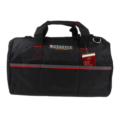 16 Inch Electrician Tool Bag Adjustable Belt and Larger Rubber Feet
