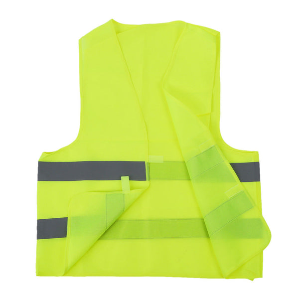 Safety vest Reflecting Strips Yellow Fluorescent High Visibility J8F4