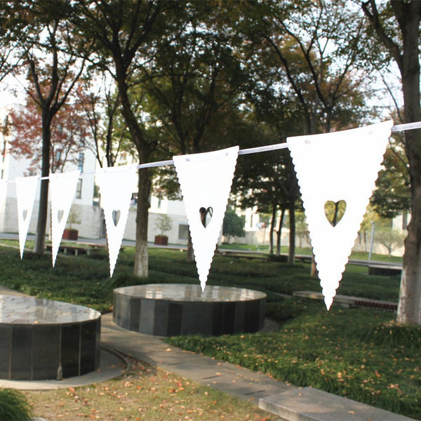 4x 16pc Wedding Party Bunting Garland Banner Event Venue Hanging Decoration 5.5m