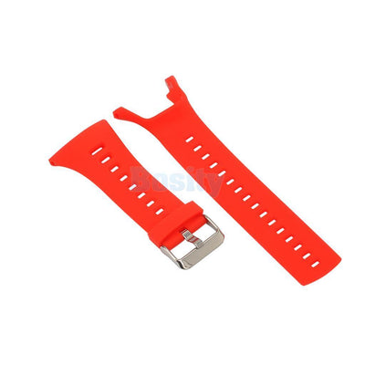 3 Pieces Soft Silicone Watch Strap Band Belt For Suunto Ambit 3 2 1 Bracelet