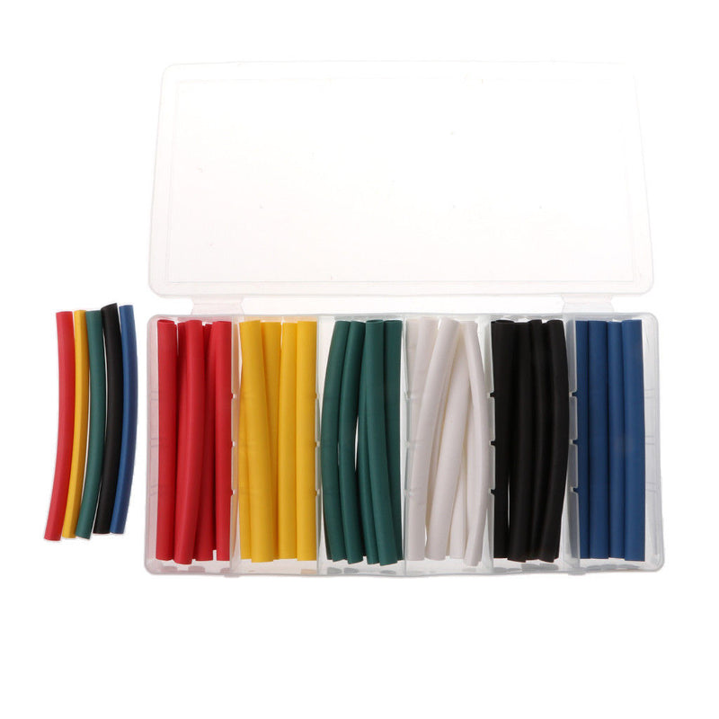 MagiDeal 140 Pcs High Ratio Heat Tube 7 Various Sizes Tubing Sleeving