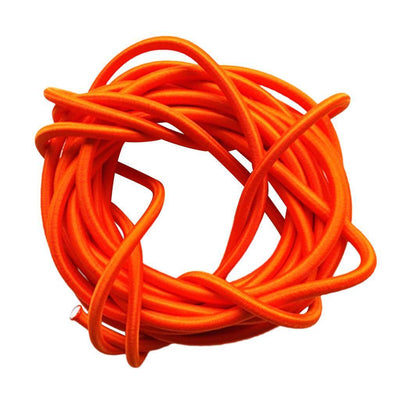 5mmx10m Elastic Bungee Stretch Rope Tie Down Paracord Tent Accessory Orange