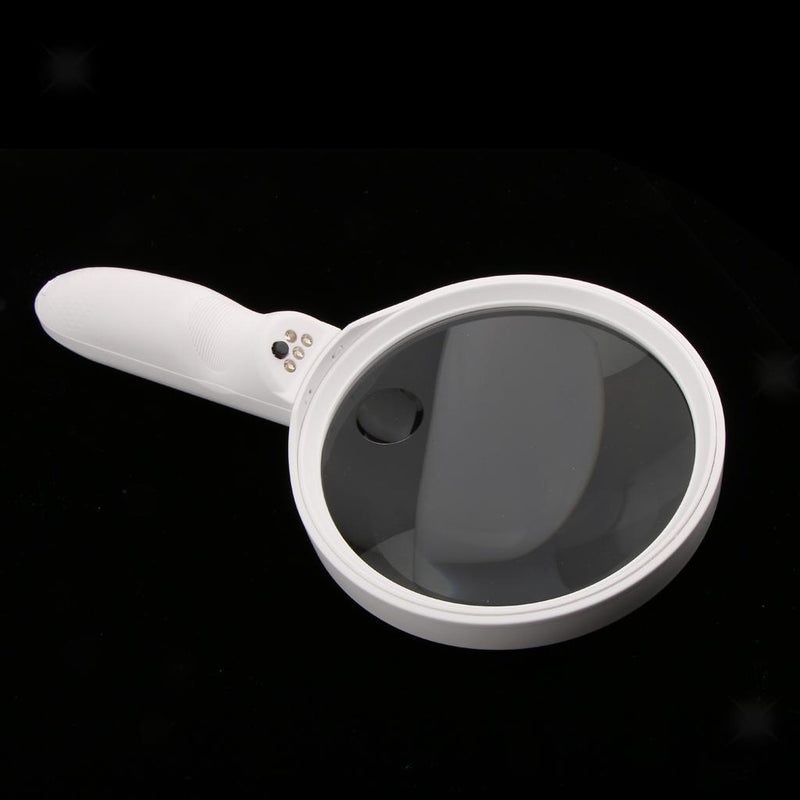 Led Magnifier Handheld 1.5X 5X Jewelers Loupe Luxury Hand Held Portable